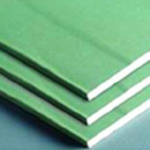 Greenboard gypsum panels